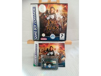 The lord of the rings - The return of the king - Gameboy Advance * Komplett *