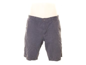 Boss Hugo Boss, Shorts, Strl: 50, regular fit, Blå/Vit