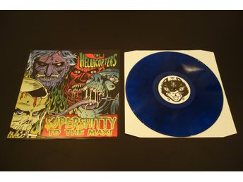 Hellacopters / Supershitty to the max (blå vinyl)