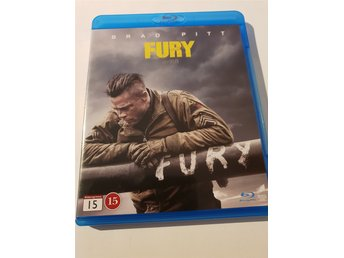 Fury BluRay