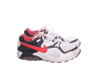 check out 948ad 1b469 Nike, Sneakers, Strl  43, Air Max, Vit Svart Röd, Skinn