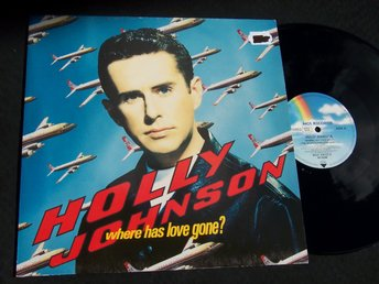 "HOLLY JOHNSON - WHERE HAS LOVE GONE? 12"" 1990 LOOKS NEW"