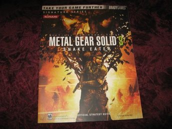 METAL GEAR SOLID 3 SNAKE EATER OFFICIAL STRATEGY GUIDE (BRADYGAMES)KONAMI NY OAN