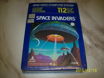 SPACE INVADERS - NYTT INPLASTAT (ATARI) CX2632