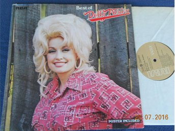 DOLLY PARTON - Best Of, LP RCA USA 1975