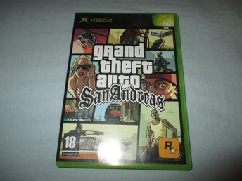 GRAND THEFT AUTO SAN ANDREAS - GTA  -  XBOX