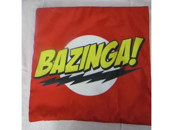 Big Bang Theory Bazinga Kudde / Cushion Cover
