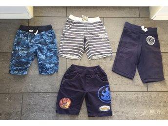 4 par shorts i fint skick, stl 110/116, HM och Kappahl - Löddeköpinge - 4 par shorts i fint skick, stl 110/116, HM och Kappahl - Löddeköpinge