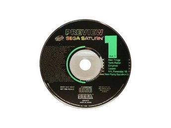 Sega Saturn Preview Disk vol 1