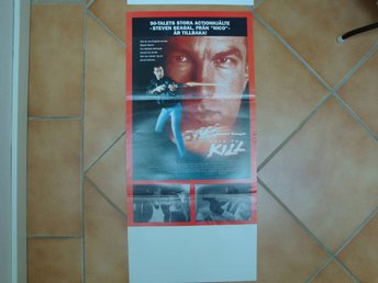 HARD TO KILL 30x70 1990 Steven Segal