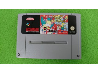 Krusty's Super Fun House Super Nintendo Snes