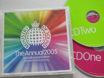 Ministry of Sound The Annual 2005 Scandinavian Edition 2CD