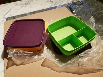 Tupperware snackbox