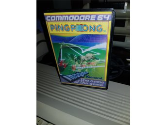 PING PONG till Commodore 64