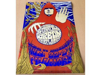 CREAM FILLMORE SAN FRANSISCO 1967 PHOTO POSTER