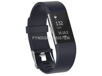 Armband Fitbit Charge 2 Large Black Fri Frakt Ny