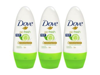 Dove Fresh Cucumber Deo antiperspirant roll-on x 3 stycken