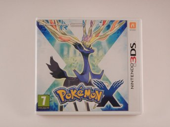 Nintendo 3DS  --  Pokemon X  --  PAL