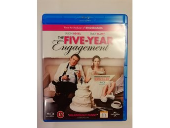 The Five-Year Engagement Blu-ray Rental Copy Nordisk 2012 Komedi