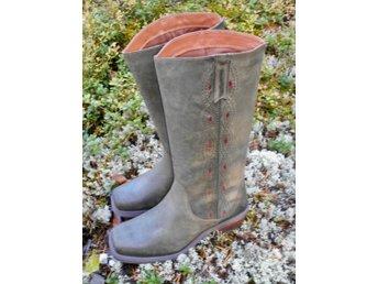 Western Boots Stövlar Skinn Nya BULLBOXER