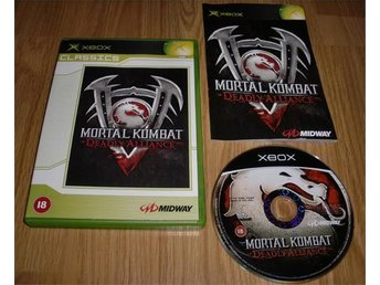 Xbox: Mortal Kombat Deadly Alliance