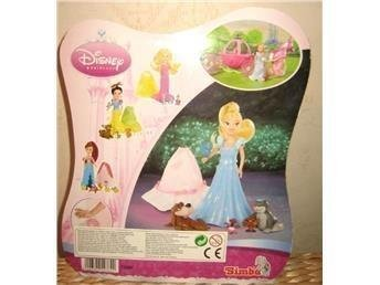 Disney Princess Mini - Askungen Docka & väska Pocket *Ny*