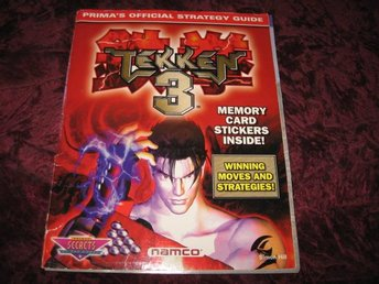 TEKKEN 3 OFFICIAL STRATEGY GUIDE (PRIMA'S) NAMCO