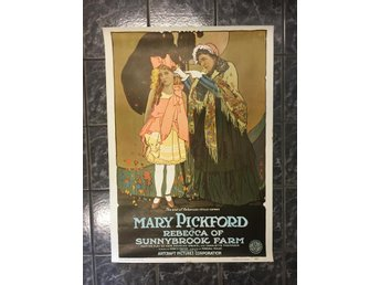 Affisch-Poster.Mary Pickford.74X52cm.Retro.Vintage