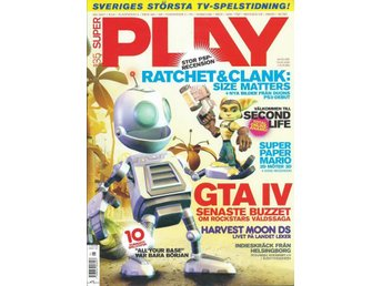 SUPER PLAY  NR 135 -GTA IV ,RATCHET & CLANK ....