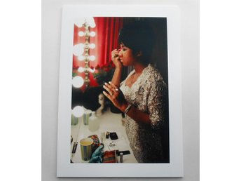 ARETHA FRANKLIN - Backstage, New Jersey 1969 - Iooss Jr. - *A4*-print NME!