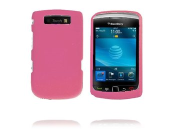 Alpha Shell (Rosa) BlackBerry Torch 9800 Skal