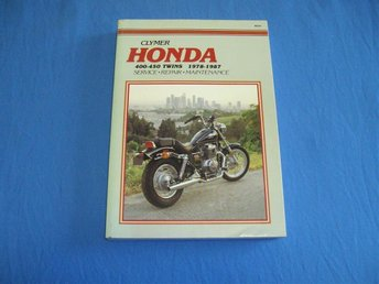 Clymer Manual. Service, Repair, Maint. Honda 400 - 450 Twins, 1978 - 1987