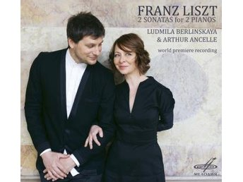 Liszt: 2 Sonatas For 2 Pianos (CD) - Nossebro - Liszt: 2 Sonatas For 2 Pianos (CD) - Nossebro