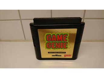 Game Genie Sega Genesis Video Game Enhancer Cartridge Only