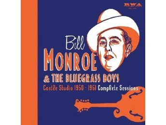 Monroe Bill: Castle Studio 1950-51 (5CD + Bok)