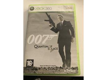 007 Quantum of solace Xbox 360 - Vendelsö - 007 Quantum of solace Xbox 360 - Vendelsö