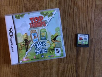 TOP TRUMPS DOGS & DINOSAURS NINTENDO DS  BRA SKICK