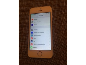 iPhone 5S 16GB olåst silver