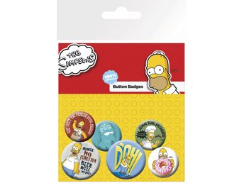 Pin Badge Pack - The Simpsons Homer