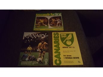 Program Norwich City x3