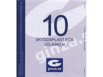 Skyddsplast för CD-Ask 137x150mm 10-pack