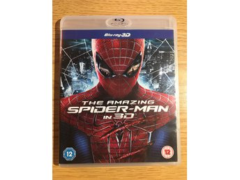 Blu-ray 3D: The Amazing Spider-Man in 3D.