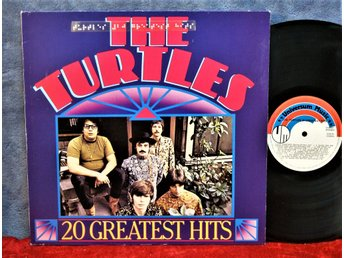 TURTLES   20 GREATEST HITS   LP   VINYL   MKT FIN KOM UT ? INGET ÅR   POP   ROCK