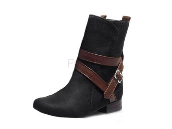 Dam Boots Riding Boots Casual Lady Martin Boots Black 42