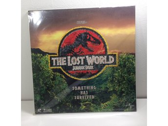 Jurassic Park The Lost World (Speilberg, Goldblum) Laserdisc 2LD B8-27