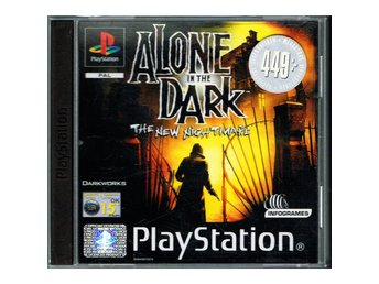ALONE IN THE DARK THE NEW NIGHTMARE PS1 - SLES-02801