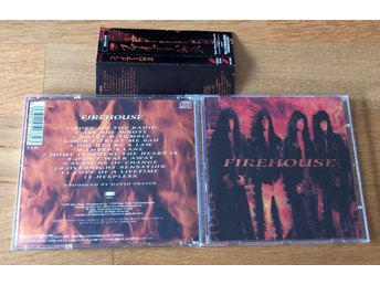 Firehouse Japan cd 1990 komplett