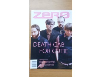 Zero tidning - Death Cab for Cutie