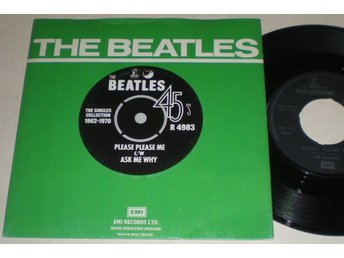 Beatles 45/PS Please please me / Ask me why UK 1976 VG++