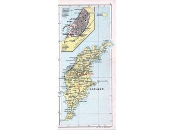 Visby Gotland 1913 Orig Karta Burgsvik Roneha 393559499 ᐈ